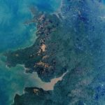 NASA astronauts snap stunning photo of UK from the International Space Station