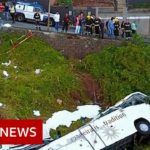 Madeira bus crash: At least 29 killed on tourist bus