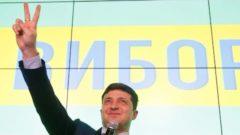 Ukrainian comedian Zelensky becomes president-elect in landslide win