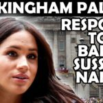 Buckingham Palace Responds To Meghan & Harry Baby Name Rumour