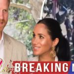 Royal Style – Meghan Markle baby: Crowds gather at Windsor Castle as Duchess and Prince Harry prepa