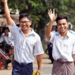 Wa Lone and Kyaw Soe Oo: Reuters journalists freed in Myanmar