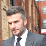 David Beckham Showed up to Court Looking Like a Full-On Runway Model