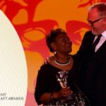 Emma Thomas is Presented with the Special Award by Greg Davies | BAFTA TV Craft Awards 2019