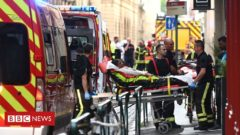 France Lyon: Police appeal after parcel bomb attack hurts 13
