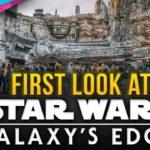 FIRST LOOK at Star Wars Galaxy's Edge at Disneyland – Disney News – 5/30/19
