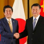 Japan's Abe and China's Xi Jinping meet amid trade war fears