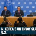 North Korea says U.S. 'hell-bent on hostile acts' despite wanting to talk