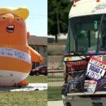 US mass shootings: Trump visits Dayton and El Paso