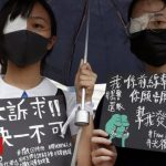 Hong Kong protests: Students boycott class on first day back