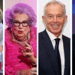 Cameron, Blair and Dame Edna join Humphrys' final Today programme