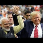 "Trump hosts Indian prime minister at ""Howdy Modi!"" rally in Texas"