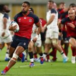 Rugby World Cup updates as Ford and Vunipola among seven tries