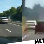 Pregnant Audi driver spared jail for 113mph crash with two young children in car