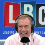 Nigel Farage caller brilliantly dismantles argument that only 'thick white racists\' voted