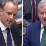 'All mouth and no trousers!' Furious Raab tears SNP's Ian Blackford apart in PMQs showdown
