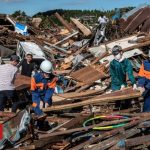 Japan deploys 110,000 rescuers after typhoon