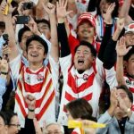 Rugby World Cup quarter-final spot gives fans reason to smile after Typhoon Hagibis