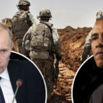 US sends troops to RUSSIAN BORDER as NATO becomes anxious of 'Vladimir Putin's aggression'