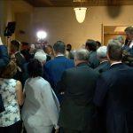 Republicans storm Trump impeachment inquiry