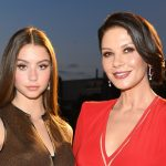 Catherine Zeta-Jones and lookalike daughter Carys model together in new fashion campaign