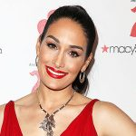 Nikki Bella Shows Off Her Incredible Body In Sexy Red Dress With BF Artem At WWE Party