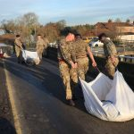 Army arrives in South Yorkshire as 34 warnings in place