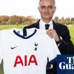 José Mourinho appointed Tottenham manager after Pochettino sacked