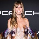 Heidi Klum Poses In Nothing But A Pair Of Hip-Hugging Jeans & Heels on Instagram