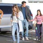 Ben Affleck & Jennifer Garner Reunite To Take Their 3 Kids To The Movies Before Thanksgiving