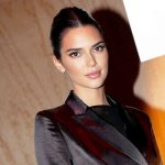 Kendall Jenner Shows Off Her Teeny Tiny Waist In All-Black Outfit On Thanksgiving