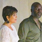 Kris Jenner, 64, Stuns In Lace White Dress & Holds Hands With Corey Gamble, 39, On Romantic Vacay