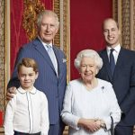 Portrait of Queen and three heirs marks new decade