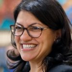 Rashida Tlaib boos Hillary Clinton at Bernie Sanders event in Iowa