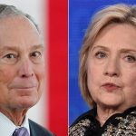 Hillary Clinton denies she could be Bloomberg's running mate: 'Oh no!'