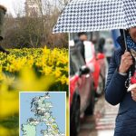 Another wet and windy weekend for Brits with 178 flood alerts in place