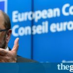 Martin Schulz: EU hamstrung by Brexit and rise of populist right