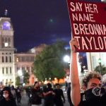 Amid Kentucky Unrest, AP Poll Shows Public Support For Racial Justice Protests Falling