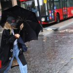 Storm Alex Brings Heavy Rain And Wind To UK
