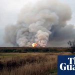 Russia Explosion And Fire At Munitions Depot Sends 2,000 Fleeing