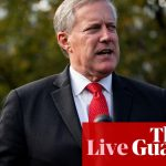 Coronavirus Live News: White House Chief Of Staff Mark Meadows Tests Positive – Reports