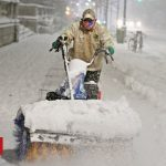 US snowstorm: Tens of millions on East Coast to be affected