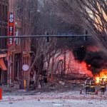 Nashville explosion: Camper van blows up in 'intentional act' on Christmas morning