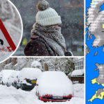 Snow weather UPDATES: Latest weather warnings for UK and YOUR area