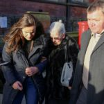 Family of Katie Rough found injured in field arrive at court