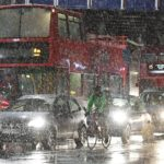London Fresh weather warning for capital after snow sparks rush hour chaos