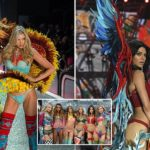 Victoria's Secret are accused of showcasing 'racist' lingerie at show