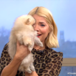 Holly Willoughby breaks down on air as puppies help her celebrate birthday