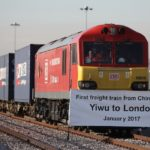 China's first freight train to the U.K. arrives in London