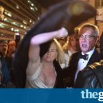 DeploraBall: Trump lovers and haters clash at Washington DC event